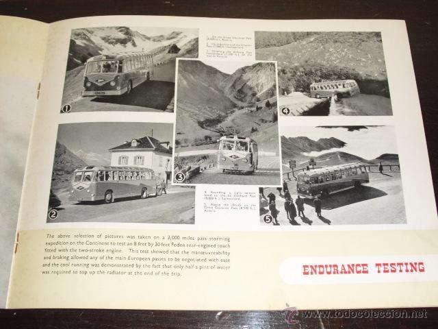 Coches y Motocicletas: FODEN - PASSENGER VEHICLES - CATÁLOGO ORIGINAL - 1962- - Foto 9 - 47366846