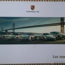 Coches y Motocicletas: CATÁLOGO DE GAMA PORSCHE. DICIEMBRE 2011. EN ESPAÑOL. Lote 245164135