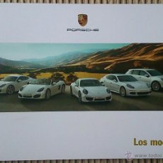 Coches y Motocicletas: CATÁLOGO DE GAMA PORSCHE. JUNIO 2013. EN ESPAÑOL. Lote 116588756