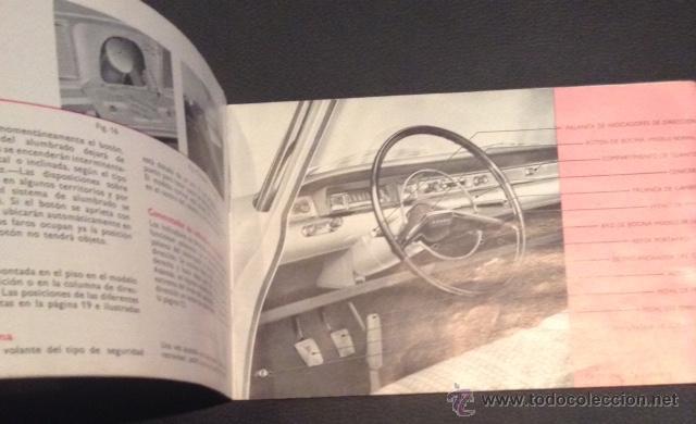 Coches y Motocicletas: manual del propietario original de 1961 ford consul 315 - Foto 2 - 47396702