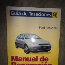 Coches y Motocicletas: MANUAL TALLER Y TIEMPOS REPARACION AUTOMOVIL FORD FOCUS 99. Lote 47500450