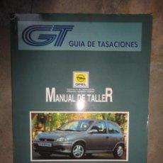 Coches y Motocicletas: MANUAL TALLER Y TIEMPOS REPARACION AUTOMOVIL OPEL CORSA 93 JULIO 1994. Lote 47500674