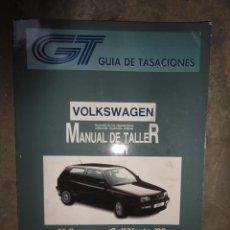 Coches y Motocicletas - MANUAL TALLER Y TIEMPOS REPARACION AUTOMOVIL VOLKSWAGEN GOLF VENTO 92 OCTUBRE 1993 - 47500965