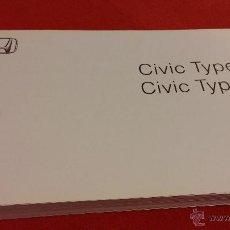 Coches y Motocicletas: MANUAL DE PROPIETARIO CIVIC TYPE S Y TYPE R 2006. Lote 47615132