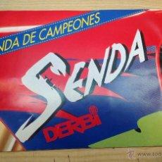 Coches y Motocicletas: DERBI SENDA SENDA DE CAMPEONES FOLLETO PUBLICITARIO ORIGINAL 1994. Lote 47696981