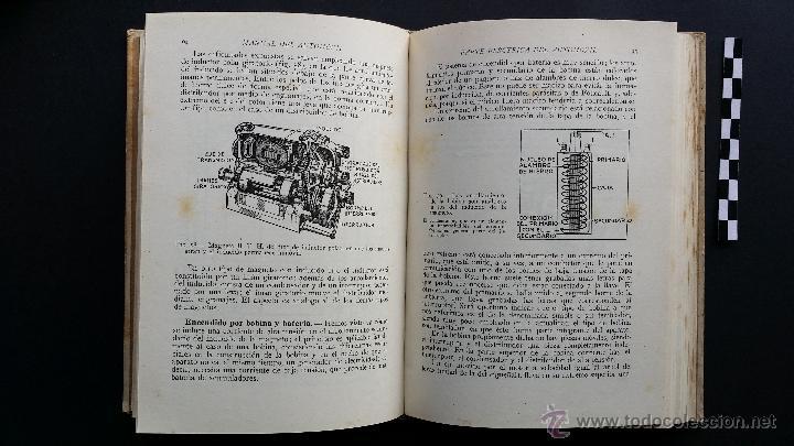 Coches y Motocicletas: Manual del automóvil, descripción completa en lenguaje sencillo. Ed. Luís Gili, 1940. - Foto 6 - 47763542