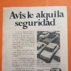Coches y Motocicletas: PUBLICIDAD 1975 - COLECCION COCHES - ALQUILER COCHES SIMCA 1200. Lote 47775962