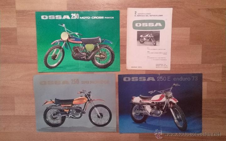 Catalogos Moto Ossa 250 Super Pioner 250 E End Sold