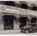 Coches y Motocicletas: AUTOMÓVIL HUPP. FOTOGRAFÍA ORIGINAL CONCESIONARIO BARCELONA. CALLE ARAGÓN 239. AÑOS 1920S. Lote 47902068