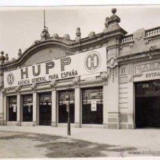 Coches y Motocicletas: AUTOMÓVIL HUPP. FOTOGRAFÍA ORIGINAL CONCESIONARIO BARCELONA. CALLE ARAGÓN 239. AÑOS 1920S. Lote 47902120