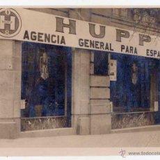 Coches y Motocicletas: AUTOMÓVIL HUPP. FOTOGRAFÍA ORIGINAL CONCESIONARIO MADRID. CALLE ALCALÁ 62. AÑOS 1920S. FOTO: RAGEL. Lote 47902163