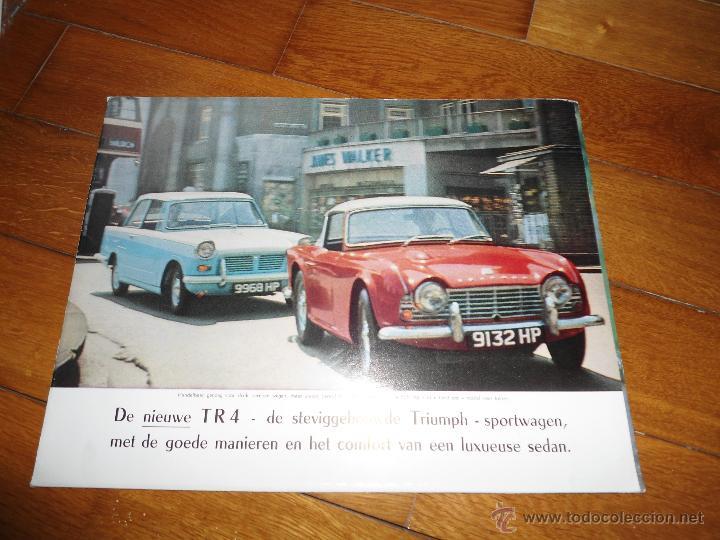CATALOGO ORIGINAL TRIUMPH TR4 TR 4 (Coches y Motocicletas Antiguas y Clásicas - Catálogos, Publicidad y Libros de mecánica)