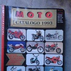 Coches y Motocicletas: CATALOGO MOTO MOTOCICLISMO 1993 NUMERO 1. Lote 48244554
