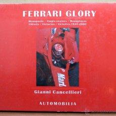 Coches y Motocicletas: LIBRO FERRARI GLORY. Lote 48281446