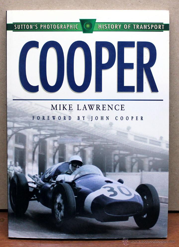 LIBRO COOPER (Coches y Motocicletas Antiguas y Clásicas - Catálogos, Publicidad y Libros de mecánica)