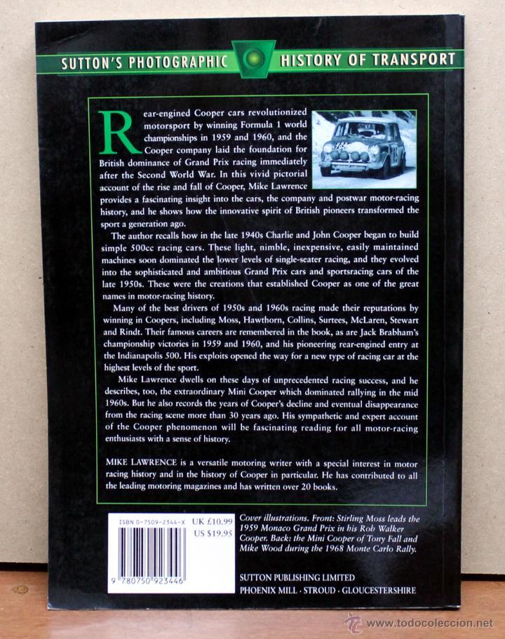 Coches y Motocicletas: Libro COOPER - Foto 2 - 48282127