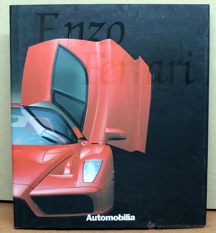 LIBRO ENZO FERRARI (Coches y Motocicletas Antiguas y Clásicas - Catálogos, Publicidad y Libros de mecánica)
