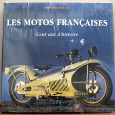 Coches y Motocicletas: LIBRO LES MOTOS FRANÇAICES CENT ANS D´HISTOIRE. Lote 145195386