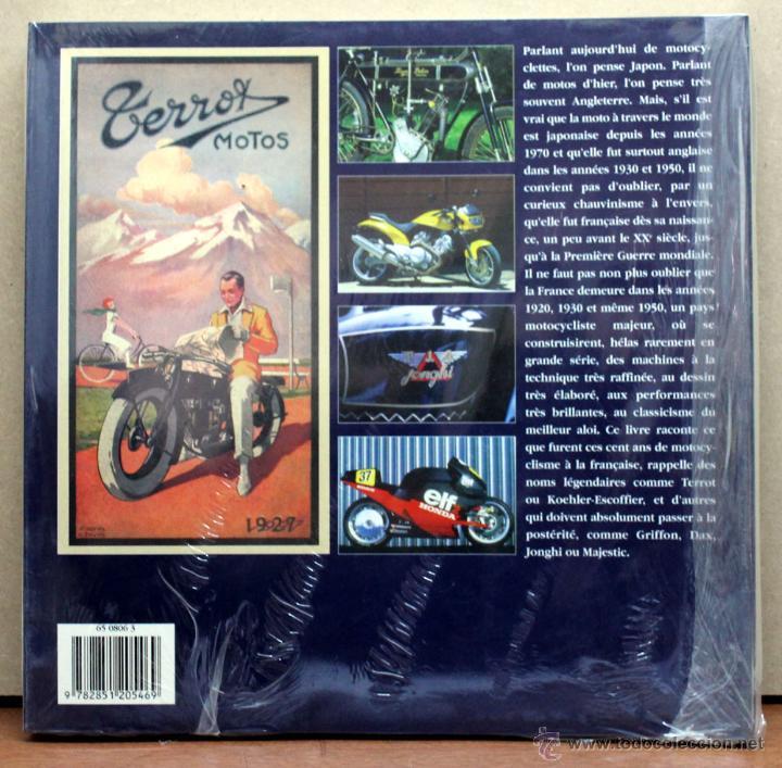Coches y Motocicletas: LIBRO LES MOTOS FRANÇAICES CENT ANS D´HISTOIRE - Foto 2 - 145195386