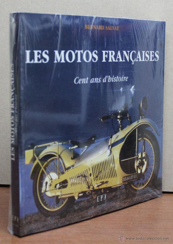Coches y Motocicletas: LIBRO LES MOTOS FRANÇAICES CENT ANS D´HISTOIRE - Foto 3 - 145195386