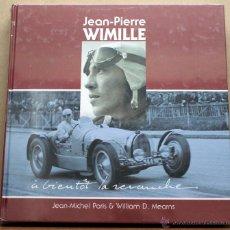 Coches y Motocicletas: LIBRO JEAN-PIERRE WIMILLE. Lote 48282749