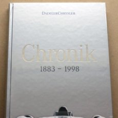 Coches y Motocicletas: LIBRO DAIMLER CHRYSLER CHRONIK 1883 - 1998. Lote 48282856