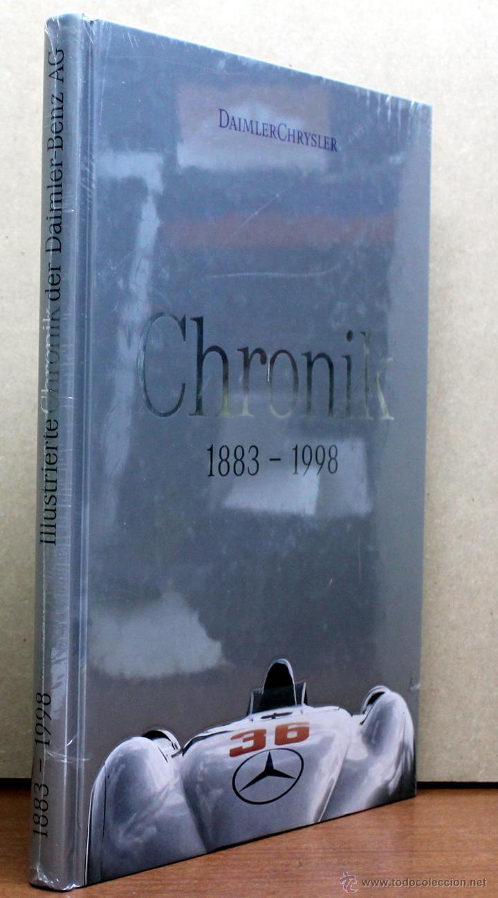 Coches y Motocicletas: LIBRO DAIMLER CHRYSLER CHRONIK 1883 - 1998 - Foto 2 - 48282856