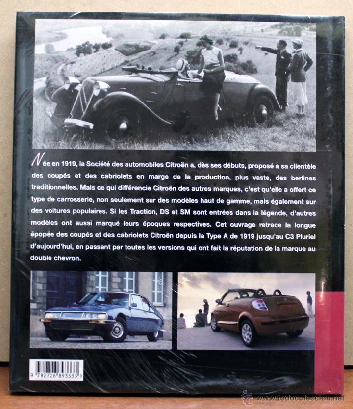 Coches y Motocicletas: LIBRO CITROEN COUPES CABRIOLETS - Foto 2 - 108706363