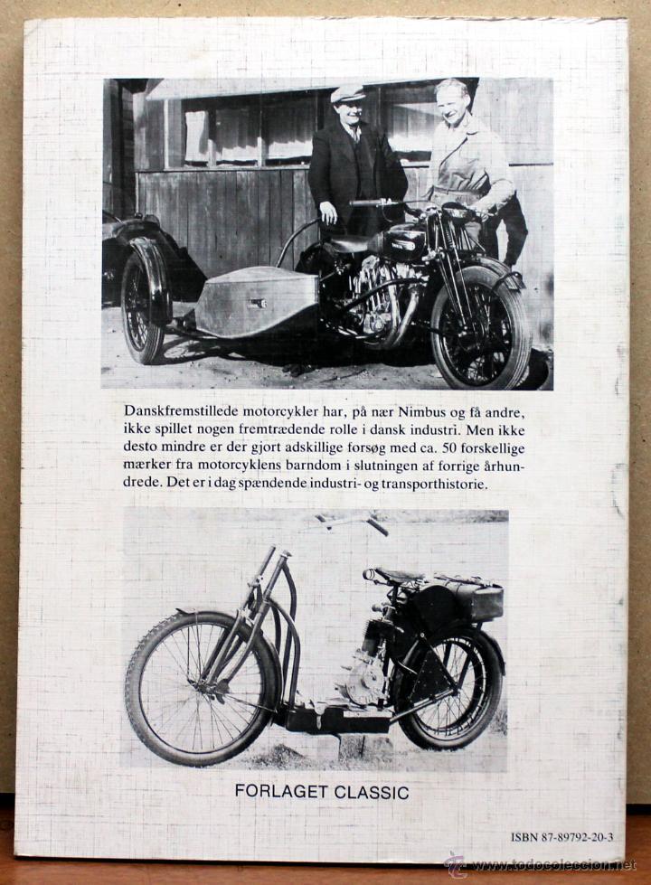 Coches y Motocicletas: LIBRO DANSKE MOTORCYKLER - Foto 2 - 48305821