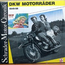 Coches y Motocicletas: LIBRO DKW MOTORRADER 1949- 1958. Lote 48306113