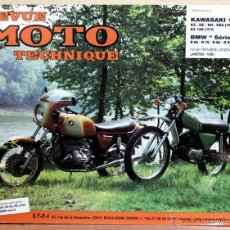Coches y Motocicletas: LIBRO REVUE MOTO TECHNIQUE N18 BMW 6 / KAWASAKI 125. Lote 48332877