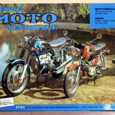 Coches y Motocicletas: LIBRO REVUE MOTO TECHNIQUE N6 BMW 5 / MOTOBECANE. Lote 48332910