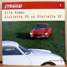 Coches y Motocicletas: LIBRO ALFA ROMEO GIULIETTA SS VS. SZ. Lote 183490416