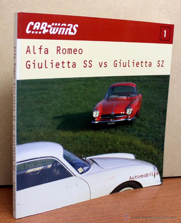 Coches y Motocicletas: LIBRO ALFA ROMEO GIULIETTA SS Vs. SZ - Foto 3 - 183490416