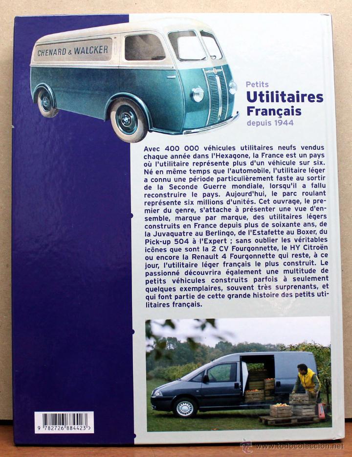 Coches y Motocicletas: LIBRO PETITS UTILITAIRES FRANÇAIS DEPUIS 1944 - Foto 2 - 48336783