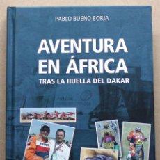 Coches y Motocicletas: LIBRO AVENTURA EN AFRICA. Lote 48337179