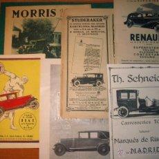Coches y Motocicletas: 10 ANUNCIOS DE AUTOMÓVILES. L85. Lote 48355855