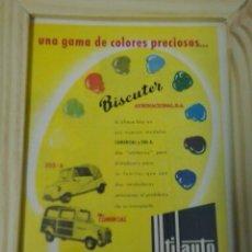 Coches y Motocicletas: BISCUTER ANUNCIO. Lote 48365783