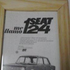 Coches y Motocicletas: SEAT 124 1968 ANUNCIO. Lote 48365903