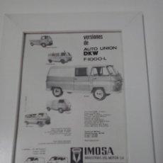 Coches y Motocicletas: DKW F-1000 L. Lote 48366495