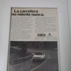 Coches y Motocicletas: SIMCA 1200. Lote 48366550