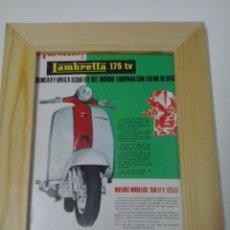 Coches y Motocicletas: LAMBRETTA 175 TV ANUNCIO. Lote 48366788