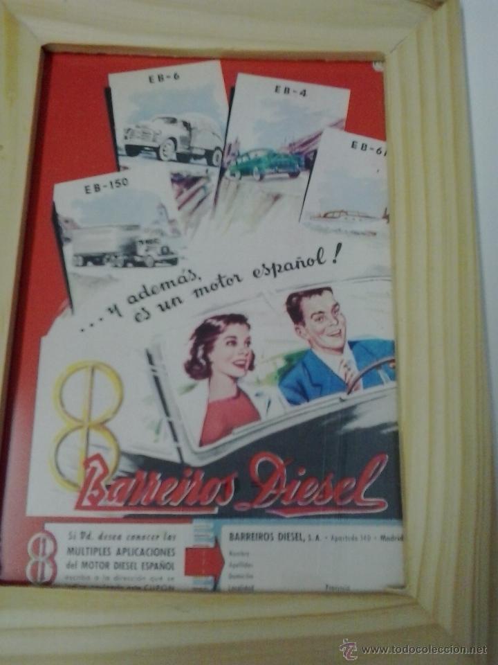 BARREIROS DIESEL ANUNCIO (Coches y Motocicletas Antiguas y Clásicas - Catálogos, Publicidad y Libros de mecánica)