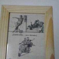Coches y Motocicletas: ANUNCIO LAMBRETTA. Lote 48367002