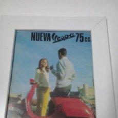 Coches y Motocicletas: ANUNCIO ENMARCADO VESPA . Lote 48367558