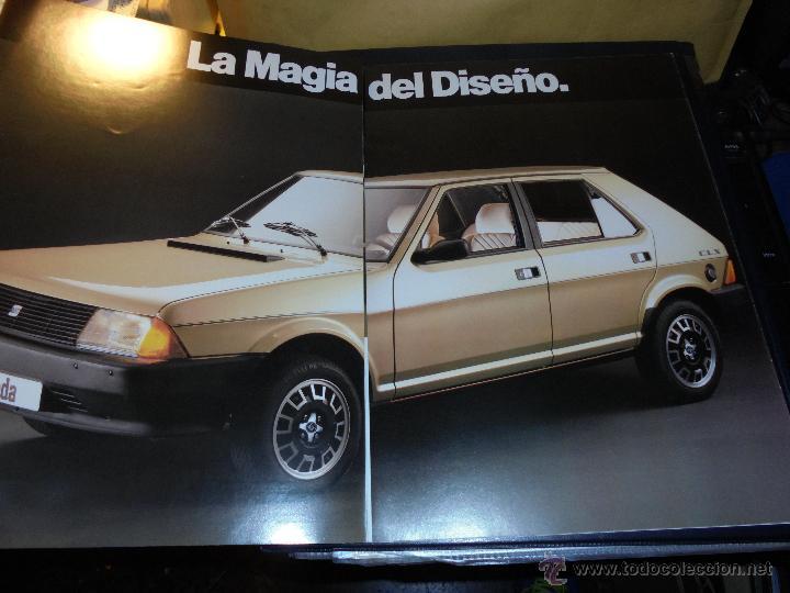 Coches y Motocicletas: CATALOGO 1982 SEAR RONDA 65 CL - 75 CLX - CRONO - DIESEL . ILUSTRADO 30 PAG. 30X21 CM. - Foto 2 - 139206377