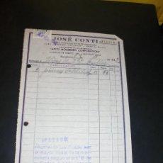 Coches y Motocicletas: AUTOMOVILES - FORD - FORDSON - CHEVROLET - Y GRAY - JOSÉ CONTI SURTIDO DE RECAMBIOS 1942 BARCELONA . Lote 48454025