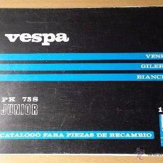 Coches y Motocicletas: VESPA 75PKS JUNIOR.MANUAL DE PIEZAS DE RECAMBIO ORIGINAL MOTOVESPA.1984.. Lote 48475291