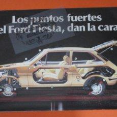 Coches y Motocicletas: PUBLICIDAD - COLECCION COCHES - FORD FIESTA. Lote 48476597