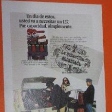 Coches y Motocicletas: PUBLICIDAD 1974 - COLECCION COCHES - SEAT 127. Lote 48476649